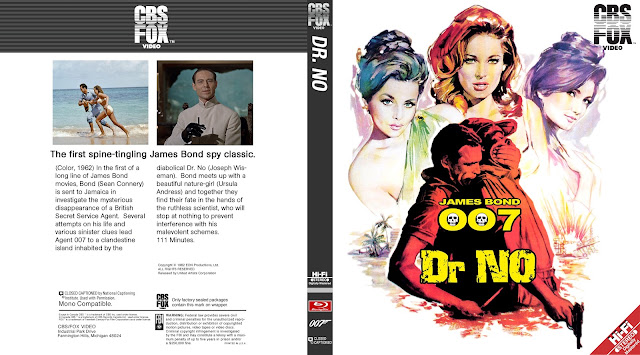 Dr. No Bluray Cover