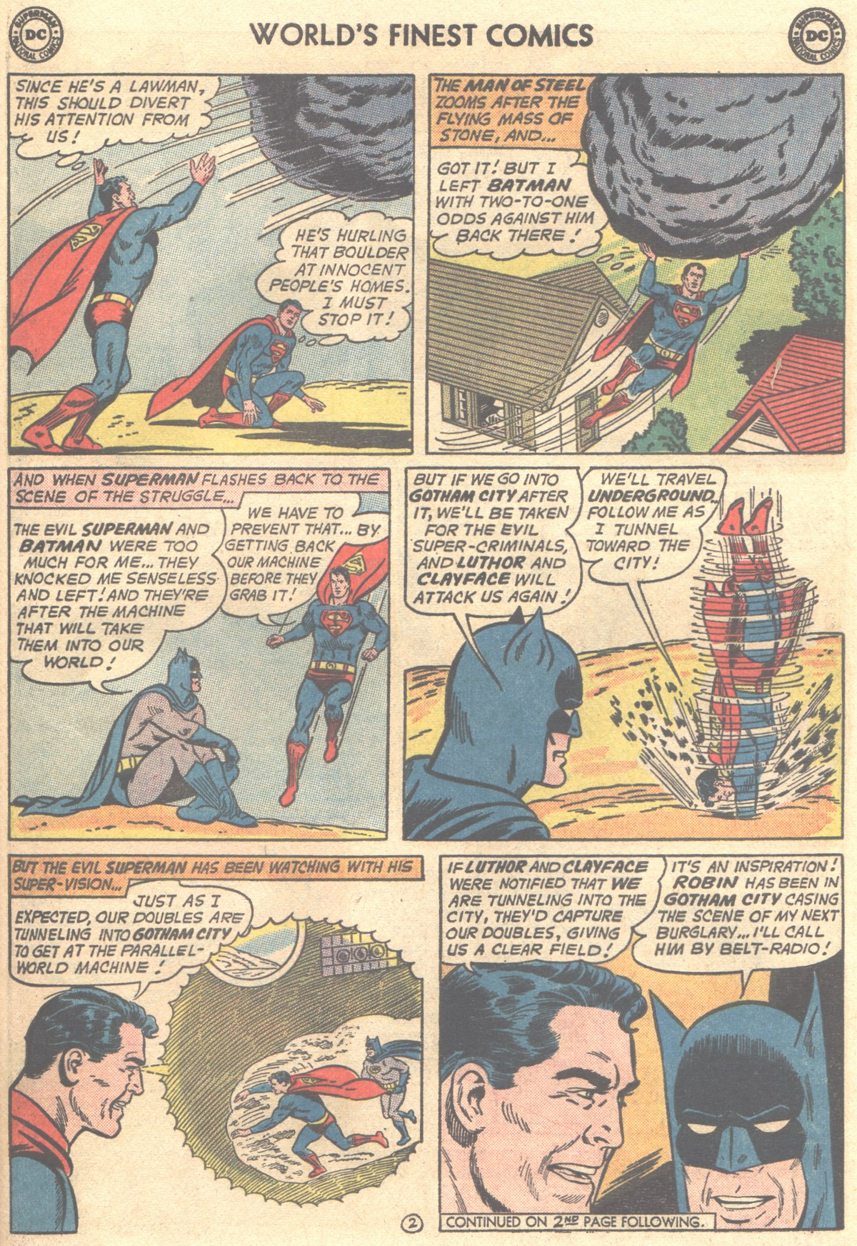 Read online World's Finest Comics comic -  Issue #148 - 13