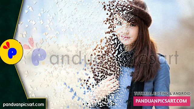 edit foto dispersion effect picsart