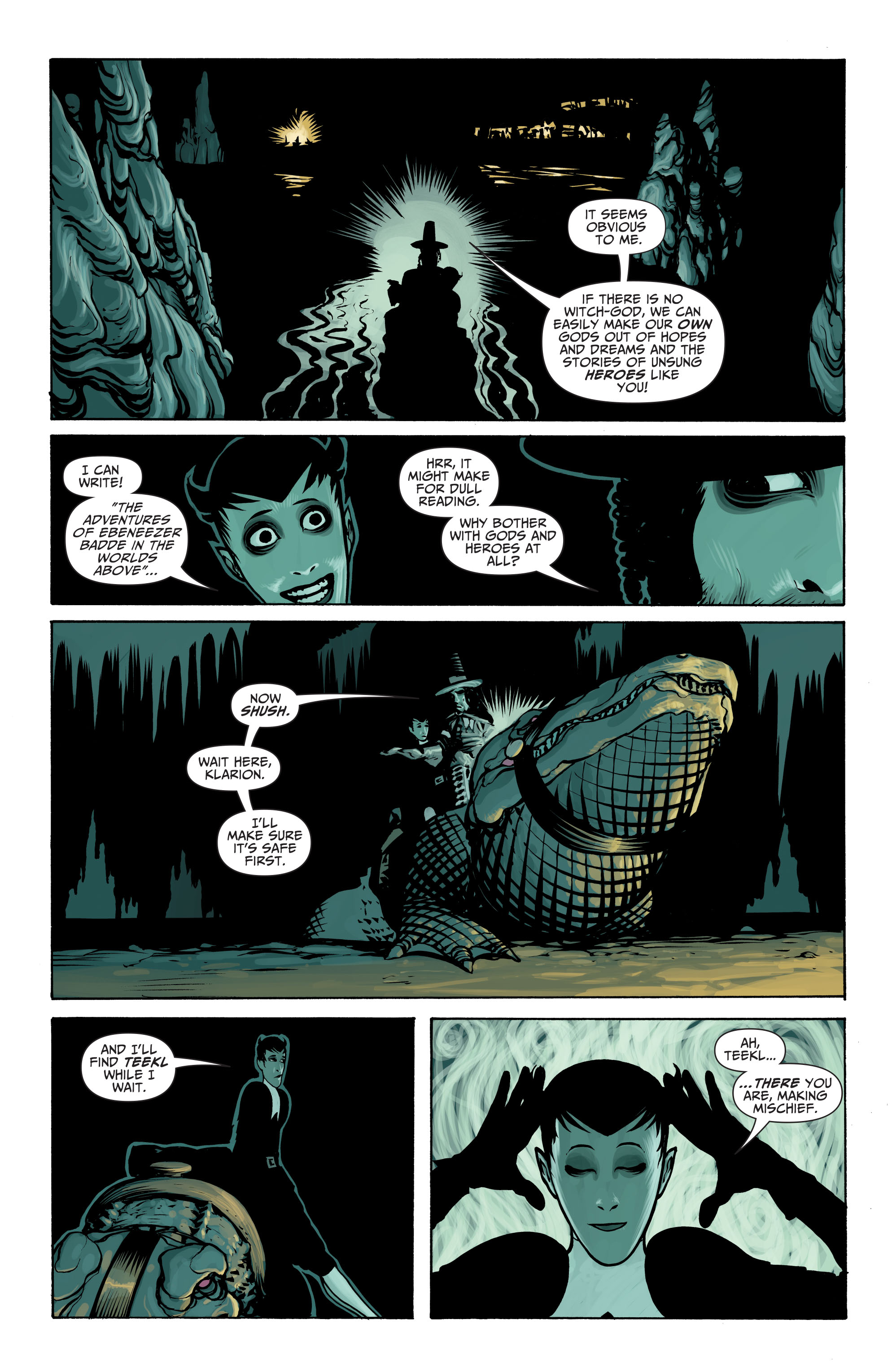 Read online Seven Soldiers: Klarion the Witch Boy comic -  Issue #2 - 16