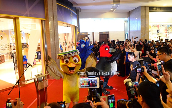 Fox World Studio Store Malaysia Opening