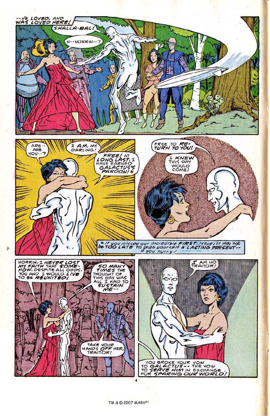 Read online Silver Surfer (1987) comic -  Issue #2 - 6