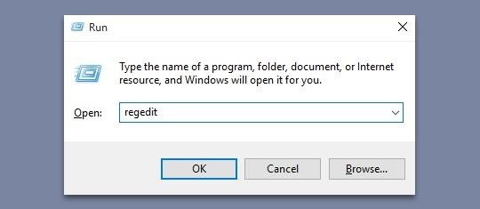Menggunakan Registry Editor untuk Menonaktifkan Layar Kunci - 1