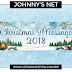 JOHNNY'S NET - CHRISTMAS MESSAGE 2018