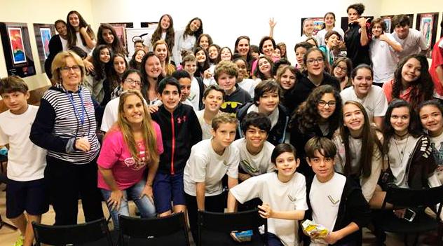 Wizo-Rio visita escolas judaicas do Estado RJ