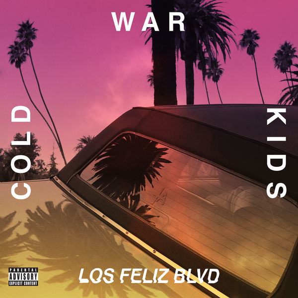 Cold War Kids - Los Feliz Blvd - EP  Cover