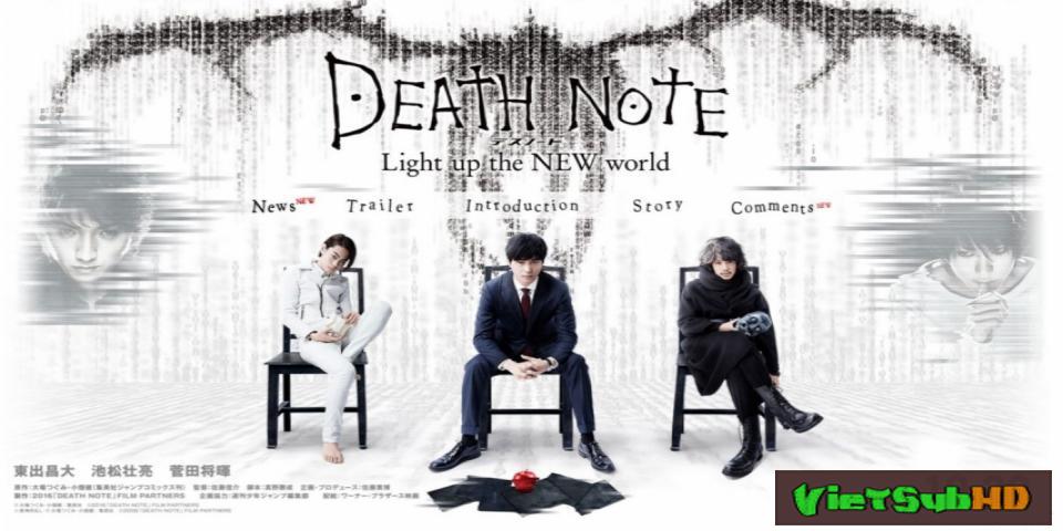Phim Cuốn Sổ Tử Thần 3: Thắp Sáng Thế Giới Mới VietSub HD | Death Note: Light Up The New World 2016
