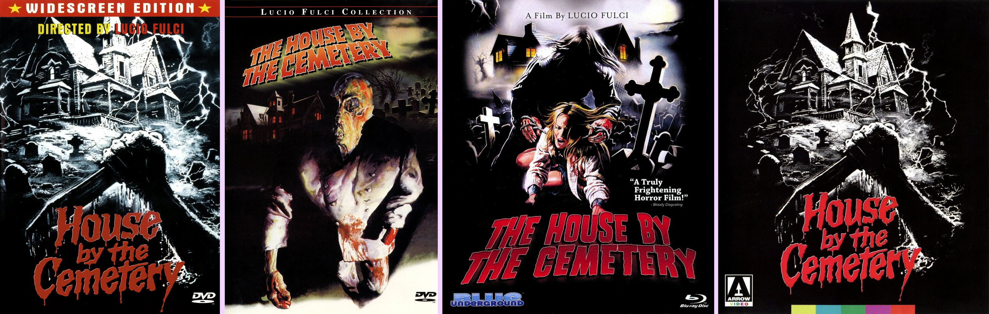 Dvd Exotica The House By The Cemetery Dvd Blu Ray Comparison