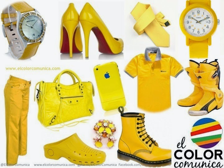 El color comunica vestirse con colores que energizan tu for Amarillo y rojo que color da