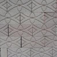 Block macizo estampado tipo Mix de Ovalos y Rombos