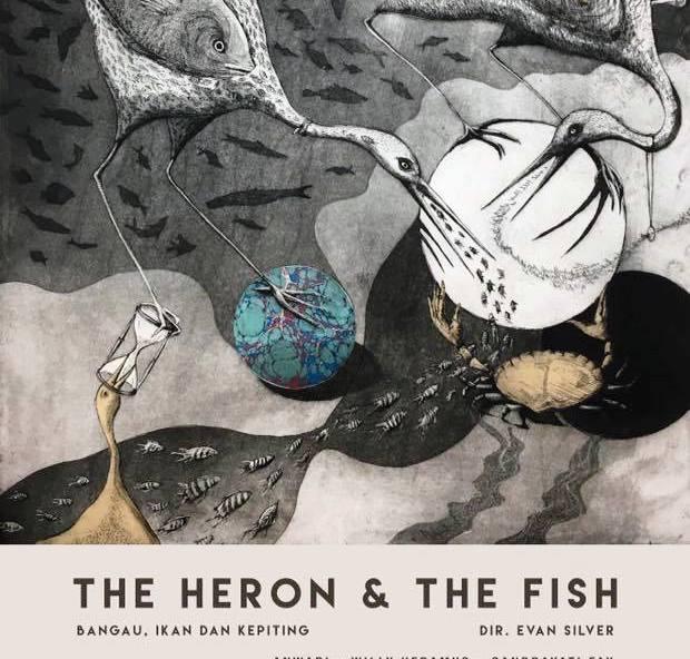 Cerita Rakyat Bangau dan Ikan akan Dipentaskan di Bali