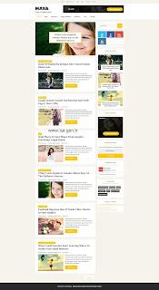 Maya Ana Sayfa