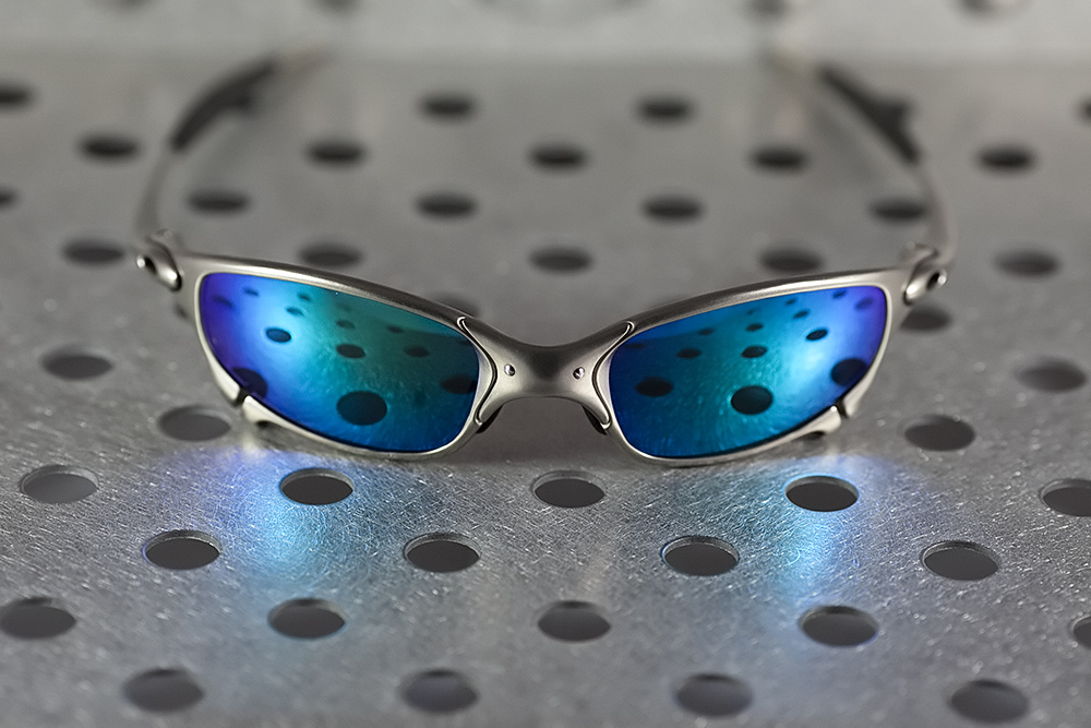 67114bf8c2 Oculos Oakley Lente Azul Polarizada   Cepar