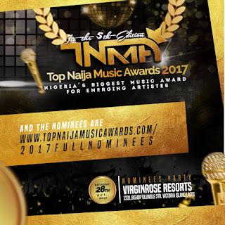 DNA, Jhybo, B-Red, Junior Boy, Soma, Ichaba, Devolee, Myro etc Battle For 2017 Top Naija Music Awards Act Of The Year