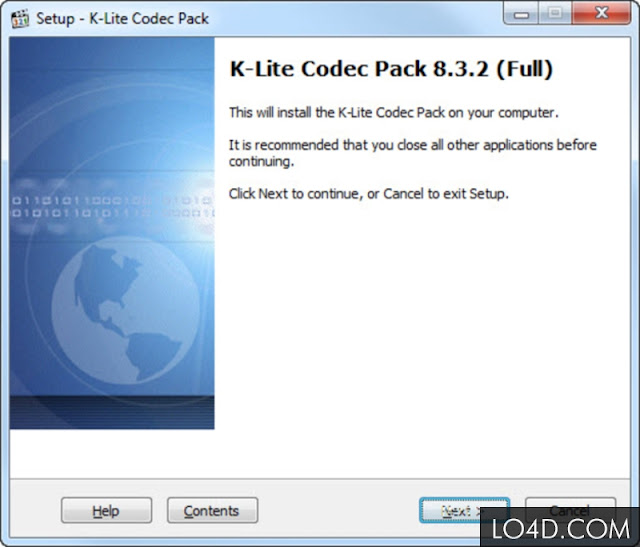 Download K-Lite Codec Pack free, version 13.0.0 Full