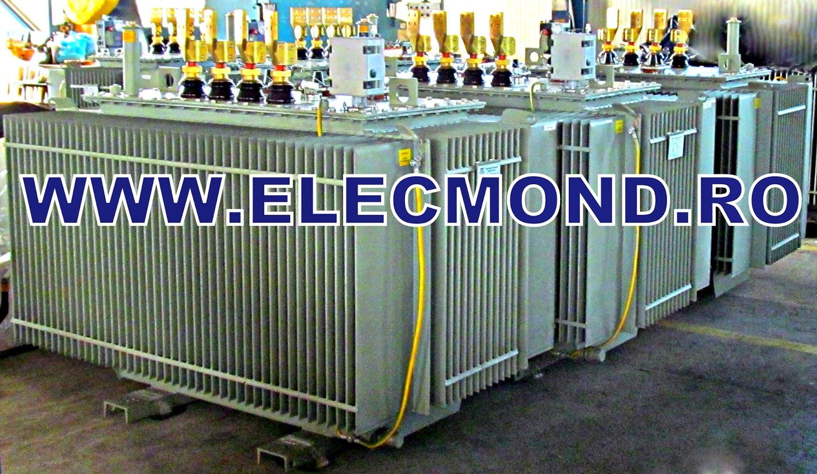 Transformator 2500 kVA , Transformator 2000 kVA  , transformator 1600 kVA , transformator 1250 kVA,  transformator 1000 kVA , TRANSFORMATOR 800 kVA , transformator 630 kVA , transformator 400 kVA , transformator 250 kVA , transformator 175 kVA, transformator 160 kVA , transformator 100 kVA , transformator 63 kVA transformator 50 kVA , transformator 40 kVA , transformator 25 kVA ,  transformatoare  stoc ,  , transformatoare ELECMOND ELECTRIC CRAIOVA