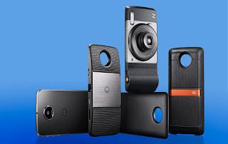 Motorola Moto Z3 personalizable por ejemplo en cámara Polaroid.