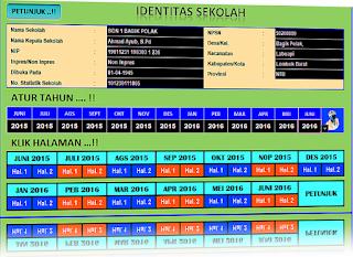 aplikasi untuk membuuat laporan bulanan sekolah