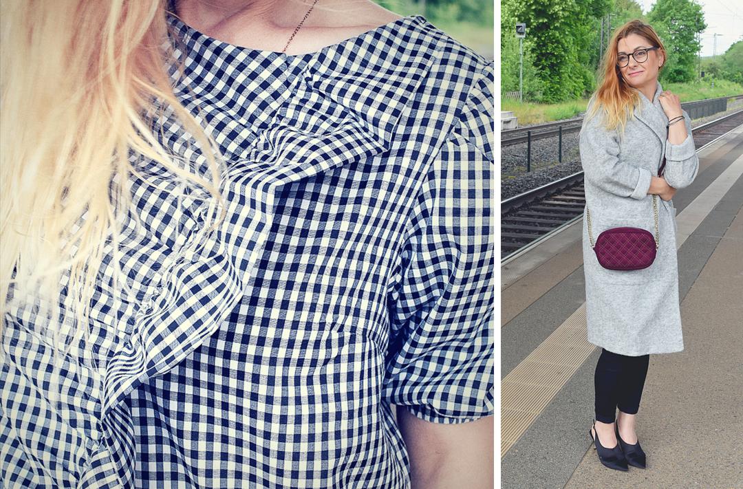 so trägst Du Karoblusen im Sommer, Modeinspiration für Frauen über 30