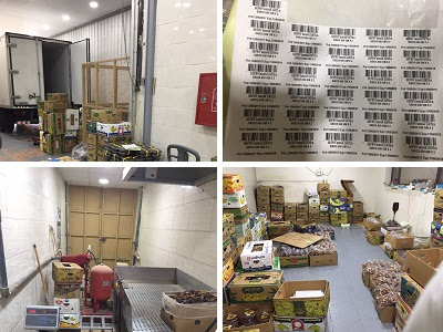 Source; MCI. A date packaging and syrup-making facility was found to be employing illegal labour and packaging dates of unknown origin.