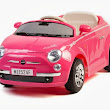 6V Kids Pink 500 Supermini Ride On Car