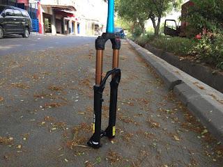 Fork 27.5 Xlr8 Coil Travel 160 Rebound Taper TA15 Kashima Coat