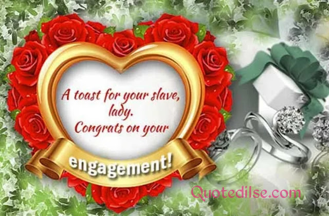 engagement card sayings