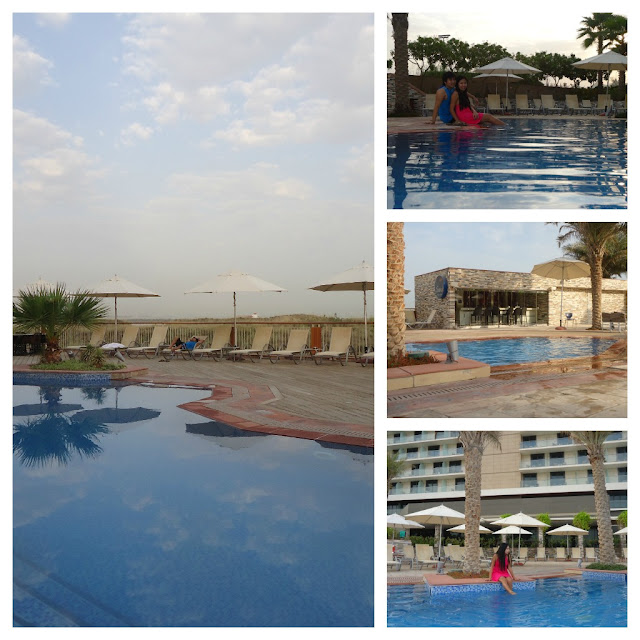 Small Swimming Pool of Park Inn Hotel Yas Island Abu Dhabi