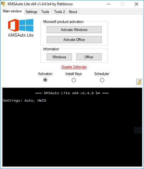 Cara aktivasi Windows dengan KMS Auto Lite
