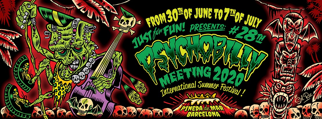 PSYCHOBILLY MEETING Pineda de Mar 2020