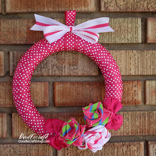 http://www.doodlecraftblog.com/2016/06/ribbon-roses-wreath.html