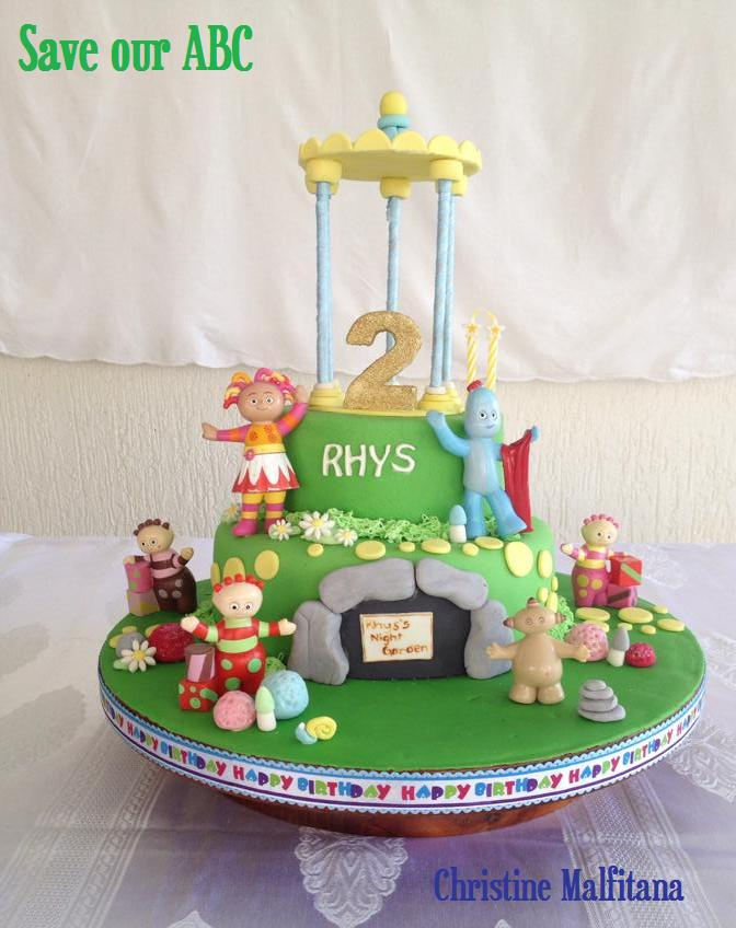 In The Night Garden Cake Save Our ABC