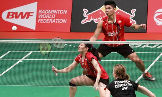 Ganda Campuran French Open Badminton Super Series 2015