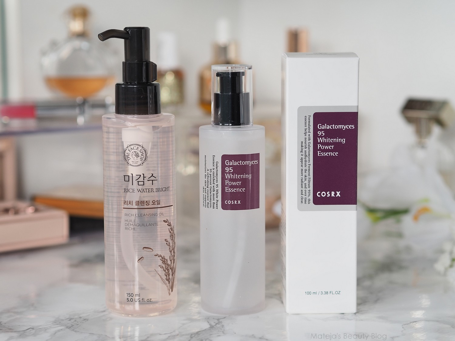New In K Beauty Matejas Blog Bloglovin Twin Pack Ovale Micellar Water Brightening 200ml The Face Shop Rice Bright Rich Cleansing Oil