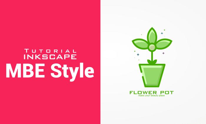 Tutorial membuat Logo MBE Style menggunakan Aplikasi Inkscape