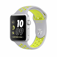 NIKE Jam Tangan Apple Watch Nike+ Sport Silver Volt ANDHIMIND