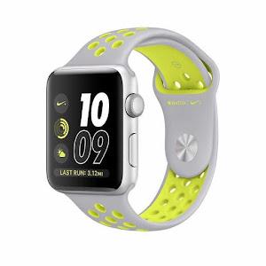 Jam Tangan Apple Watch Nike+ Sport Silver Volt