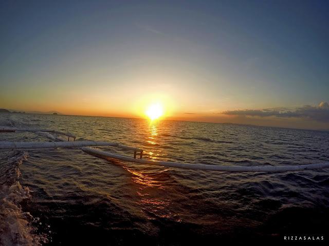 (c) Rizza Salas x Fortalez / Oscar Island x sunset