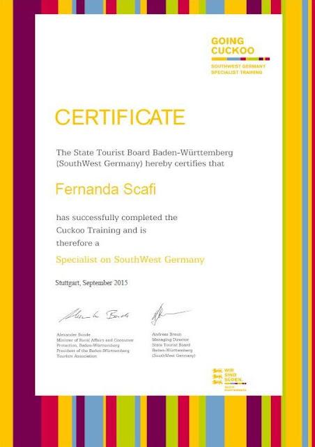 certificado de especialista em Baden-Wüttenberg
