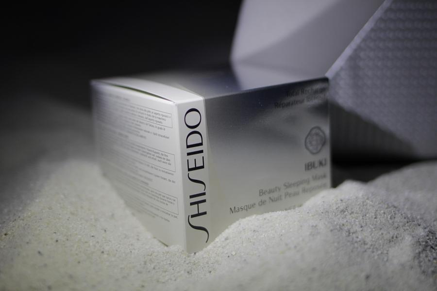 shiseido night mask
