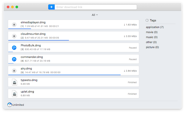 Manage Downloads with Folx Tags