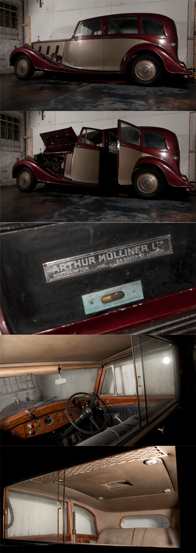 Image Rolls-Royce Phantom III Mulliner Sports Limousine 1937 by Jason Harry