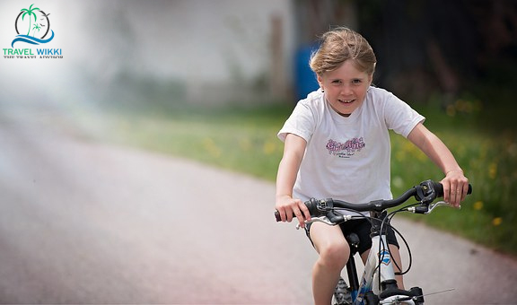 Imagine A Child On A Scooter Or An Impeller