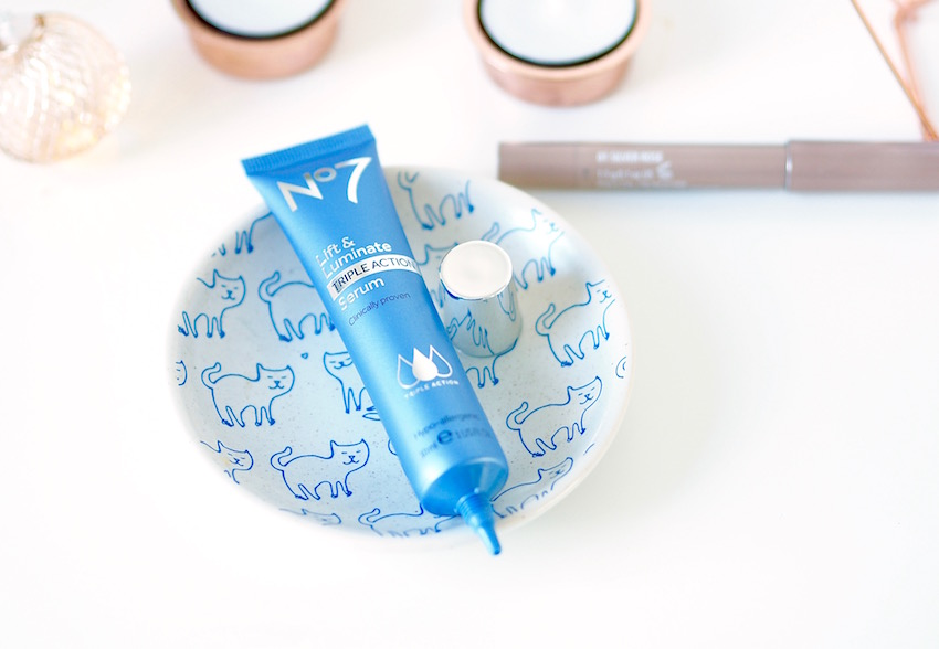 Boots No7 Lift & Luminate Triple Action Serum Review