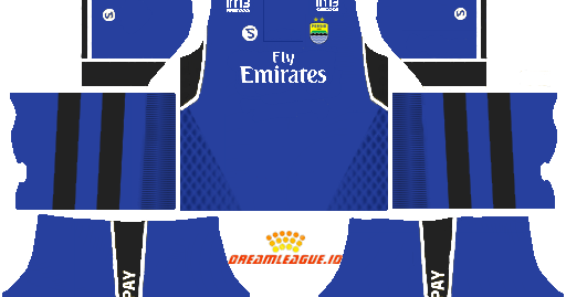 Dream League Soccer Kit Fantasy : Dls Kit Persib Fly Emirates
