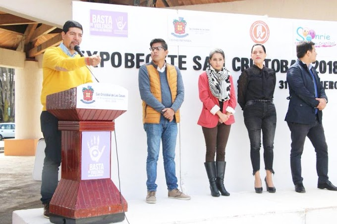 CON GRAN ÉXITO SE LLEVÓ A CABO LA EXPO-BÉCATE 2018 EN SAN CRISTÓBAL DE LAS CASAS.