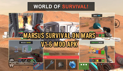 Marsus Survival on Mars 1.6 Mod Apk For Android