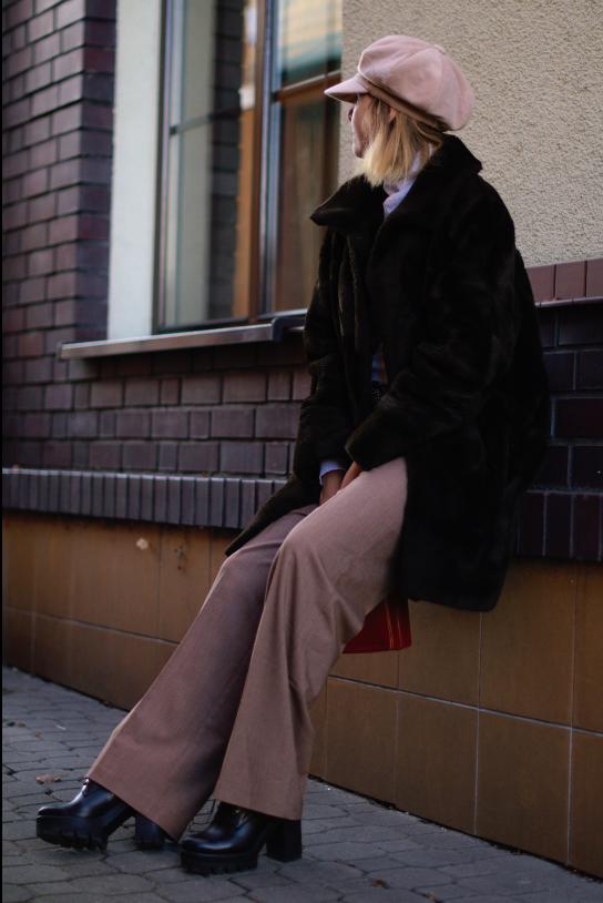 #fakefur #botkiwojas #stylizacjazimowa #sztucznefuterko #winterlook