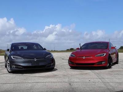 Tesla Model S 100D vs Tesla Model S P100D