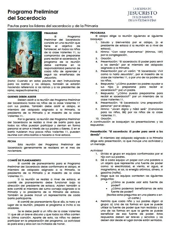 Holamormon2: QUIEN Y COMO SE PREPARA EL PROGRAMA